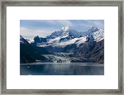 John Hopkins Glacier 3 Framed Print
