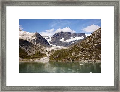 John Hopkins Glacier 5 Framed Print