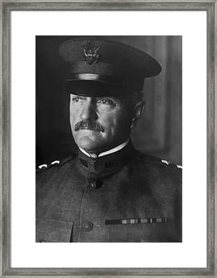 John J. Pershing Framed Print