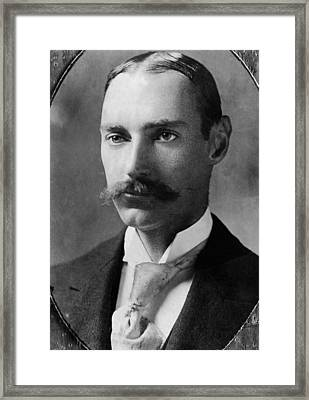 John Jacob Astor Iv 1864-1912 Framed Print by Everett