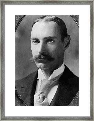 John Jacob Astor Iv 1864-1912 Framed Print by Everett
