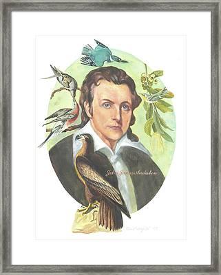 John James Audubon Framed Print by Kean Butterfield