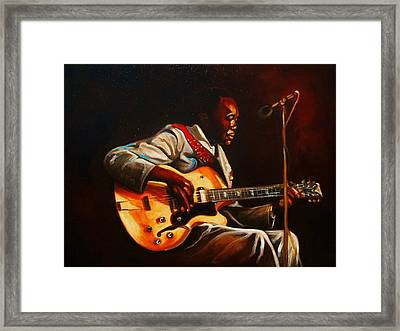 Framed Print featuring the painting John Lee by Emery Franklin
