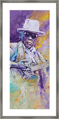 John Lee Hooker 01 Framed Print