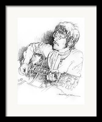 The Beatles Drawings Framed Prints