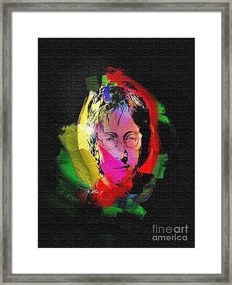 John Lennon Framed Print by Mo T