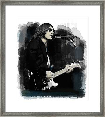 John Lennon One Night In November  Framed Print