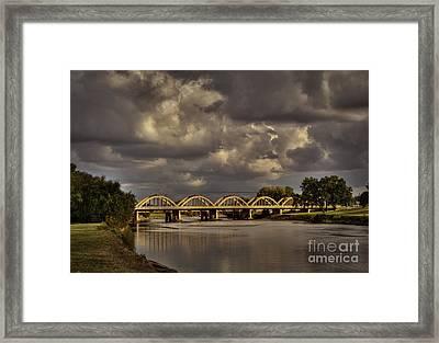 John Mack Bridge Framed Print by Fred Lassmann