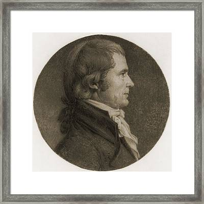 John Marshall 1755-1835, Fourth Chief Framed Print
