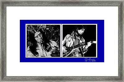 John Mayall Framed Print by Dave Gafford