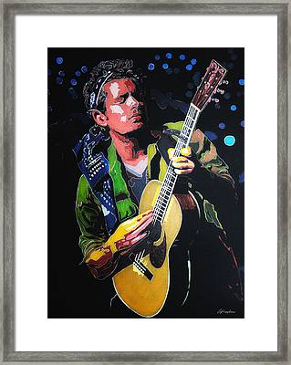 John Mayer Framed Print by Hay Rouleaux