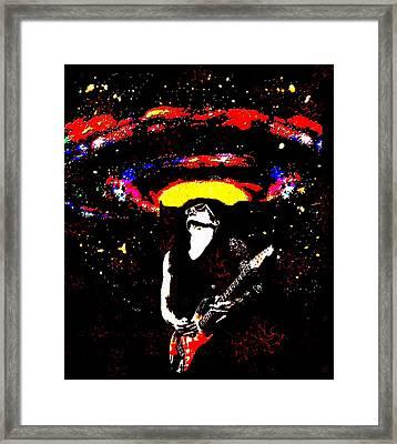 John Mayer's Gravity Framed Print by CD Kirven
