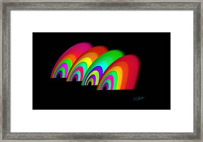 John Moores Liverpool Exhibition 12 Framed Print by Charles Stuart