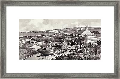 John O'groats Framed Print by Pat Nicolle