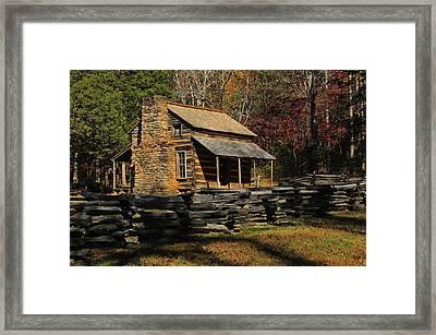 John Oliver Place Framed Print