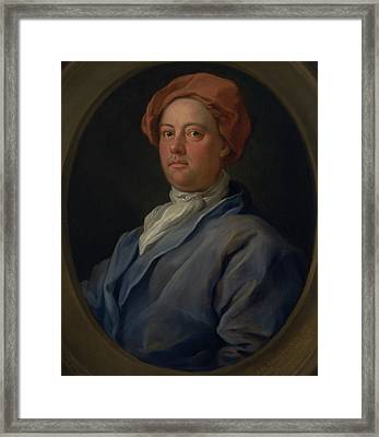 John Palmer, Barrister Of The Inner Temple Framed Print by William Hogarth