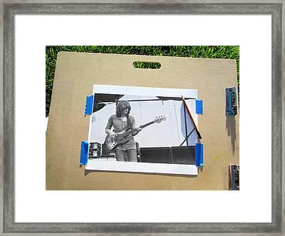 John Paul Jones Framed Print by James Dylan