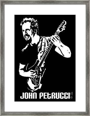 John Petrucci No.01 Framed Print
