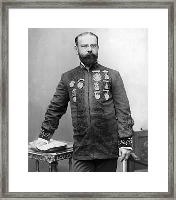 John Philip Sousa 1854-1932, American Framed Print by Everett