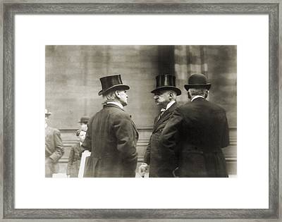 John Pierpont Morgan 1837-1913 Framed Print