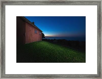 John R. Park Homestead - Sunrise Framed Print