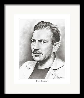 Author Drawings Framed Prints