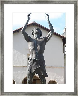 John The Babtist Framed Print