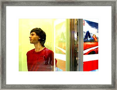 John The Younger Framed Print by Jez C Self