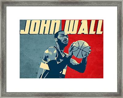 John Wall Framed Print by Semih Yurdabak