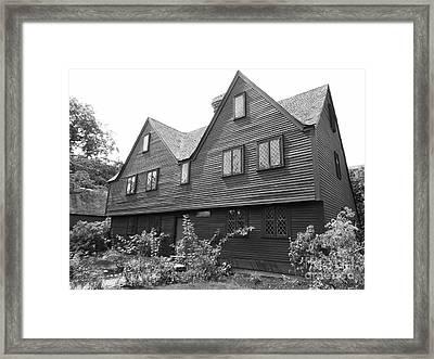 John Ward House, Salem, Massachusetts Framed Print