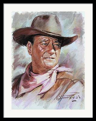 The Duke Framed Prints