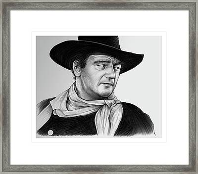 John Wayne 29jul17 Framed Print