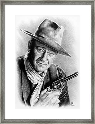 John Wayne  Framed Print by Andrew Read