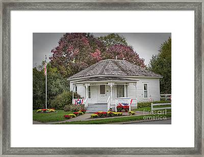 John Wayne Birthplace Framed Print
