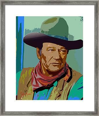 John Wayne Framed Print by John Keaton