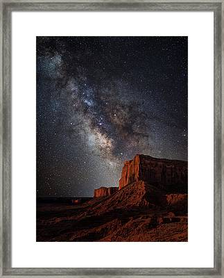 John Wayne Point Framed Print