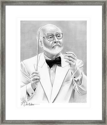 John Williams Framed Print by Murphy Elliott
