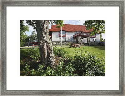 John Wingate Weeks Estate - Lancaster Nh Framed Print by Erin Paul Donovan