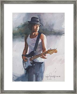 Johnny B. Goode Framed Print by Douglas Trowbridge