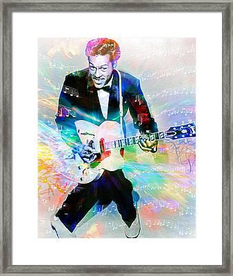 Johnny B. Goode Framed Print by Mal Bray