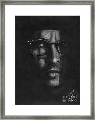 Johnny Depp 2 Framed Print by Rosalinda Markle