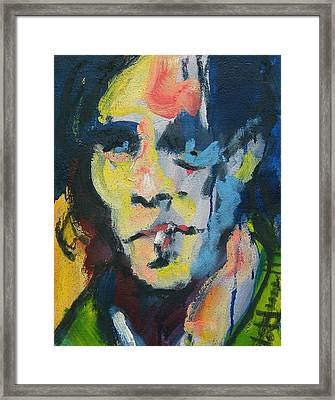 Johnny Framed Print