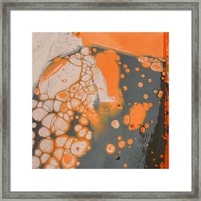 Johnny Pepper Crowding Over Hyppo Framed Print