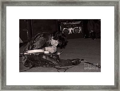 Johnny Thunders Framed Print