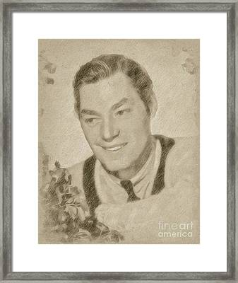 Johnny Weissmuller, Actor Framed Print by Frank Falcon