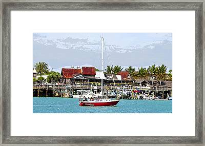 Johns Pass Florida Framed Print by David Lee Thompson