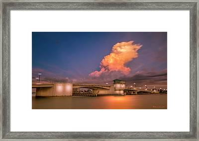 John's Pass Framed Print