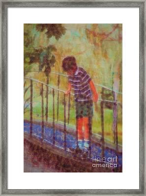 John's Reflection Framed Print