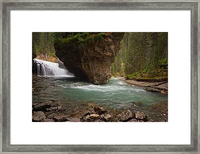 Johnston Canyons Framed Print