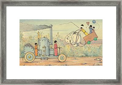 Joie De Campagne Framed Print by Herbert Crowley